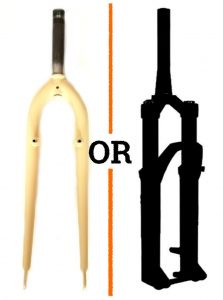 Read more about the article Rigid or Suspension Fork for a Commuter Bicycle? What's best?