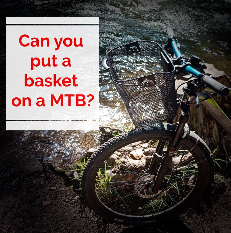 Read more about the article Can You Put a Basket On a Mountain Bike? (all options listed)