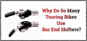 Read more about the article Why Do So Many Touring Bikes Use Bar End Shifters? (it's not just about looks)