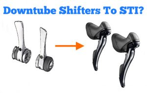 Read more about the article Can You Convert Downtube Shifters to STI?