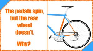 Read more about the article The Pedals Spin, But the Rear Wheel Doesn't Turn. What's the problem?
