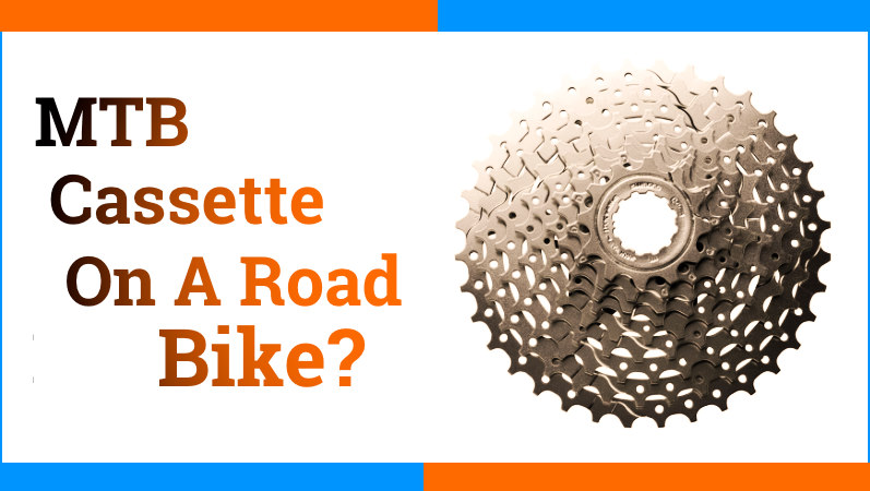 Read more about the article Can You Put a Mountain Bike Cassette On a Road Bike?