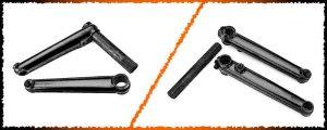 Read more about the article 2 Piece vs. 3 Piece BMX Cranks? What's Best?