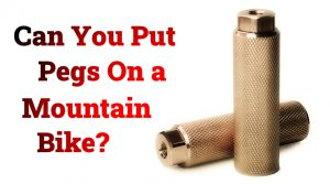 Read more about the article Can You Put Pegs On a Mountain Bike?