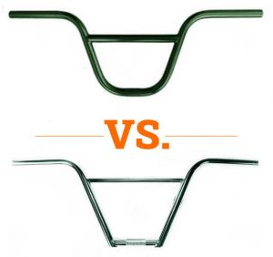 Read more about the article 2 Piece vs. 4 Piece BMX Handlebars | What's best?
