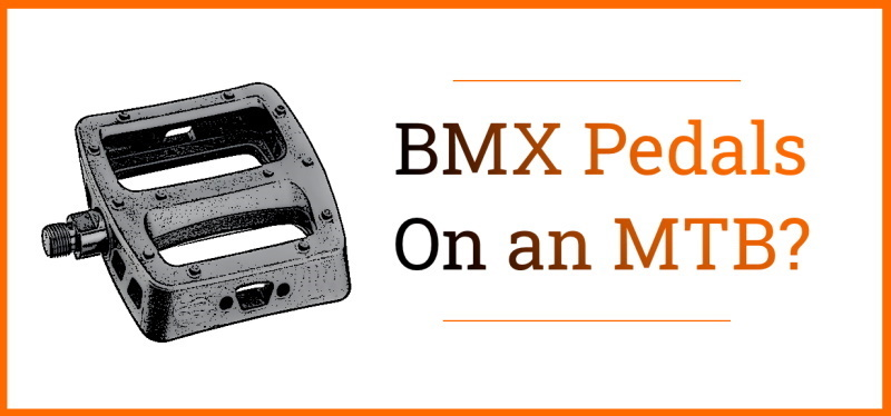 Read more about the article Can You Put BMX Pedals On a Mountain Bike?