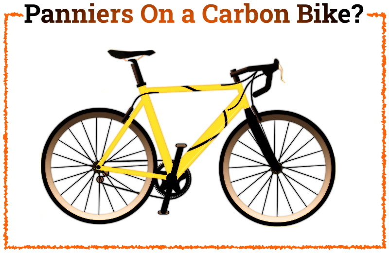 Read more about the article Can You Put Panniers On a Carbon Bike?
