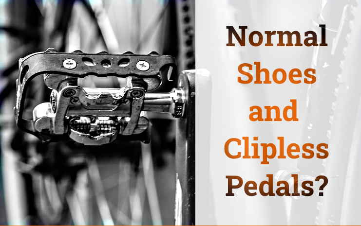 Read more about the article Can You Use Clipless Pedals With Normal Shoes?