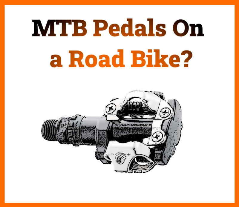 Read more about the article Can You Use Mountain Bike Pedals On a Road Bike?