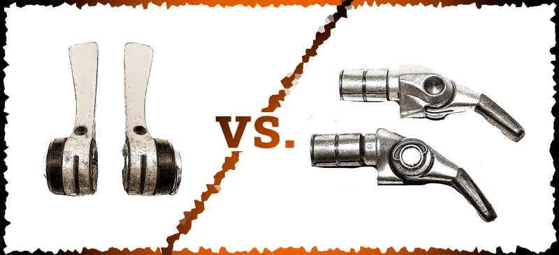 Read more about the article Downtube Shifters vs. Bar-end Shifters