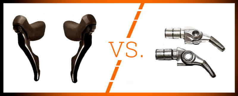 Read more about the article Bar-End Shifters vs. STI Brifters