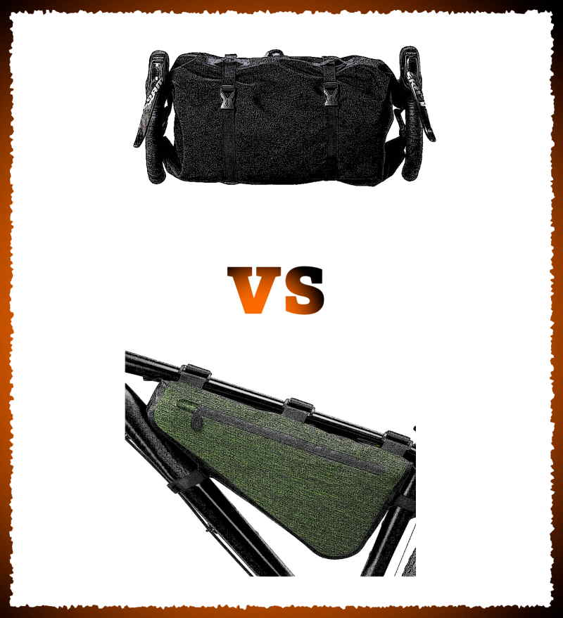 Read more about the article Handlebar Bag vs. Frame Bag