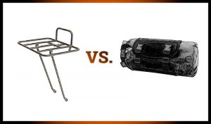 Read more about the article Front Rack vs. Handlebar Bag
