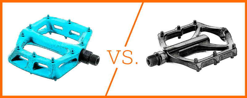 Read more about the article Plastic Pedals vs. Metal Pedals (BMX, Street riding…etc.)