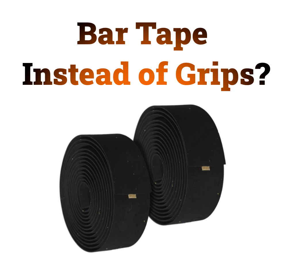Read more about the article Using Bar Tape Instead of Grips (Pros and Cons Compared)