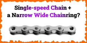 Read more about the article Can You Use a Single-speed Chain With a Narrow Wide Chainring?