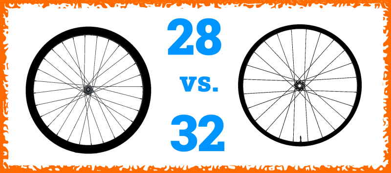 Read more about the article 28 vs. 32 Spokes Wheels (Full Comparison)