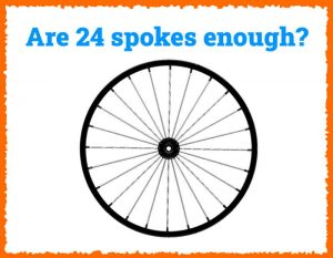 Read more about the article Are 24 Spokes Enough for a Strong Wheel?